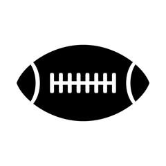 American football ball icon.