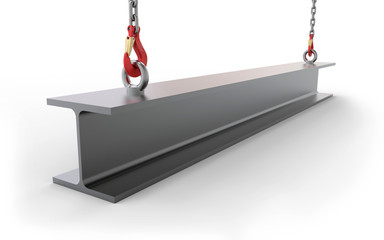 Stahlträger anheben