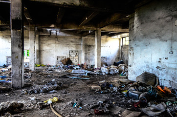 Warehouse, homeless - magazyn, bezdomki