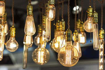 Light lamps - decor glowing - different sizes