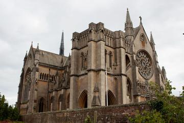 Arundel Castle Church against Grey Sky