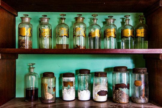 Antique Apothecary Jars