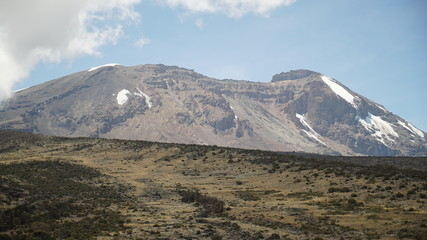 Kilimanjaro mountain. trekking. africa. uhuru. kilimanjaro peack