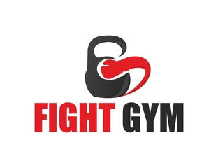 Company (Business) Logo Design, Vector, Fight Gym