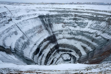 Mirny diamond mine