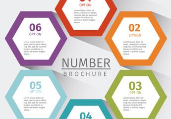 Mulitpurpose Numbered Tab Infographic 6