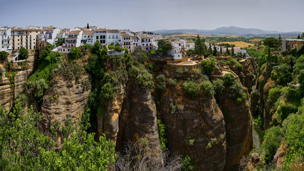 Beautiful city of Ronda, Spain