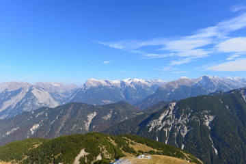 Seefelder Joch Tirol im Herbst