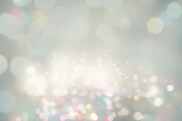 Abstract blurred circles background
