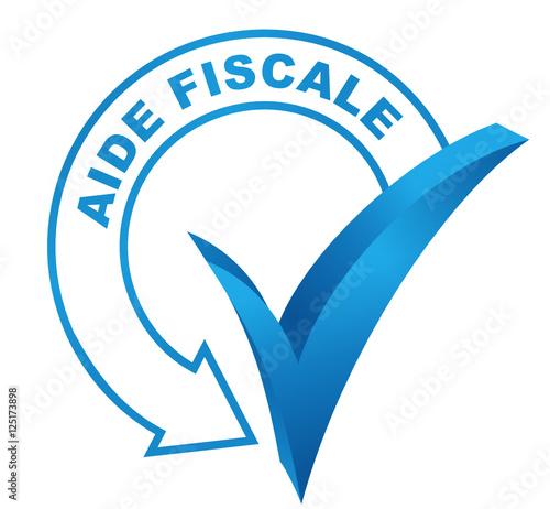 aide fiscale sur symbole valid bleu stok g rseller ve telifsiz vekt r dosyalar. Black Bedroom Furniture Sets. Home Design Ideas