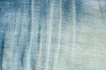 Close up of Blue jeans for background texture.