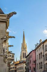 Flèche de la basilique Saint Epvre de Nancy