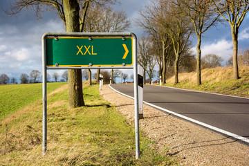 Schild 96 - XXL