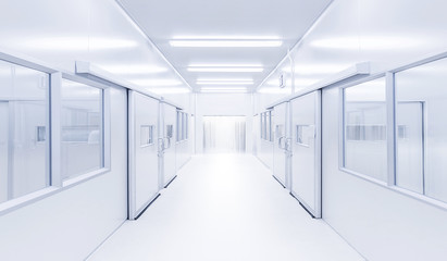 modern interior science lab with lighting from gateway