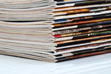 Magazines stack
