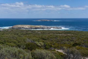 Kangaroo Island Coast Line near Admiral Arch. Southern Australia