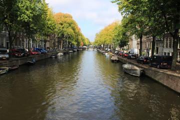 Amsterdam - Ruelles et canaux