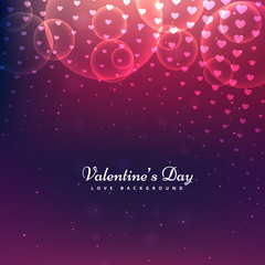 shiny valentines day background