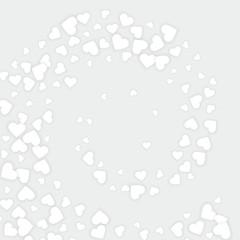 love white hearts background