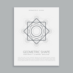 sacred geometric lines shapes