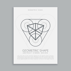 cubical sacred geometric figure