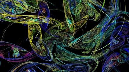 Kreativer abstrakter Hintergrund 16:9