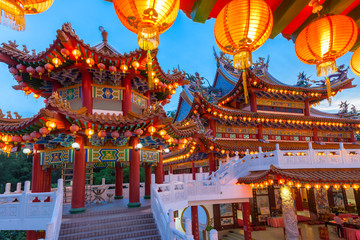 Thean Hou Temple on the Mid-Autumn Festival, Kuala Lumpur