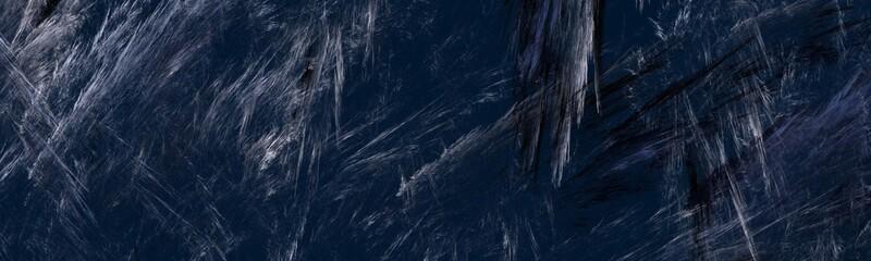 Abstrakter dunkelblauer Hintergrund - Panorama