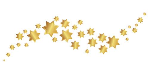 Goldener Sternenschweif