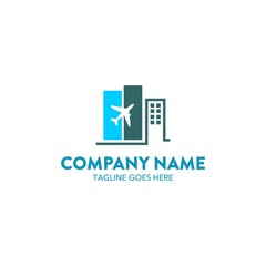 Travel And Hotel Logo Template