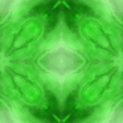 Fresh green meditative chakra hamony background picture