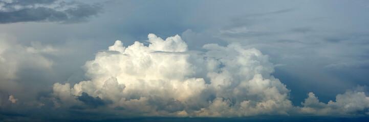 Canvas Prints Heaven Panorama von Quellwolken