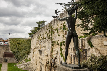 Cava dei Balestrieri in San Marino