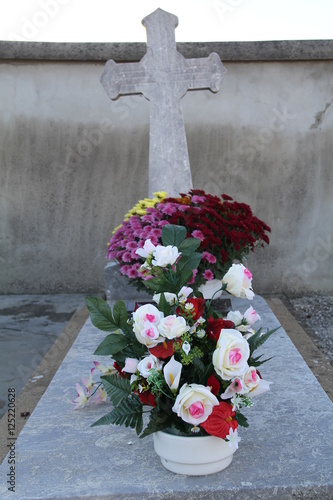 d coration tombe pour la toussaint stock photo and