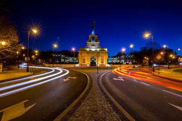Obraz Białostockie miasto nocą - fototapety do salonu