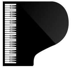 Vector Piano Top