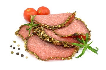 salami z pieprzem