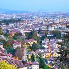 Wall Mural - Old Town of Bergamo