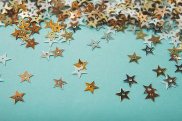 glitter stars background