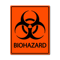 Biohazard sign illustration