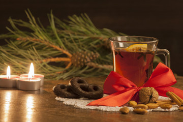 Christmas, tea and spices