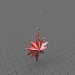 Christmas Tree Ornament Star 01