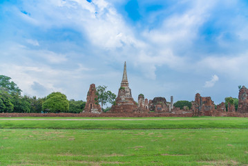 Wat Mahathat temple, Ayutthaya Historical Park, Phra Nakhon Si A