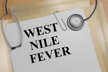 West Nile Fever - medical concept