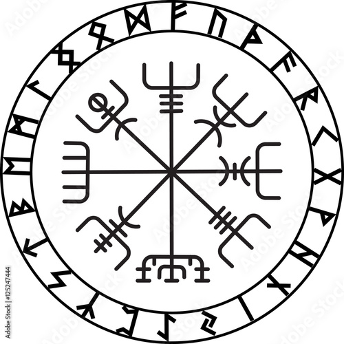 Quot Vegvisir The Magic Navigation Compass Of Ancient