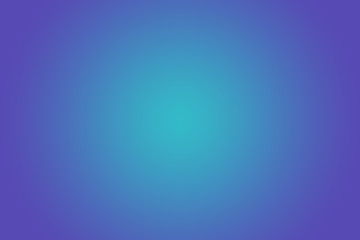 Turquoise Blue Gradient Background.