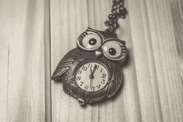Vintage owl watch