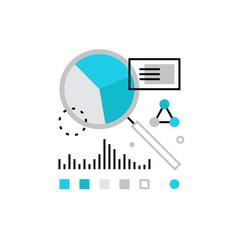 Financial Analysis Monoflat Icon