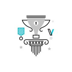 Champions Cup Monoflat Icon.