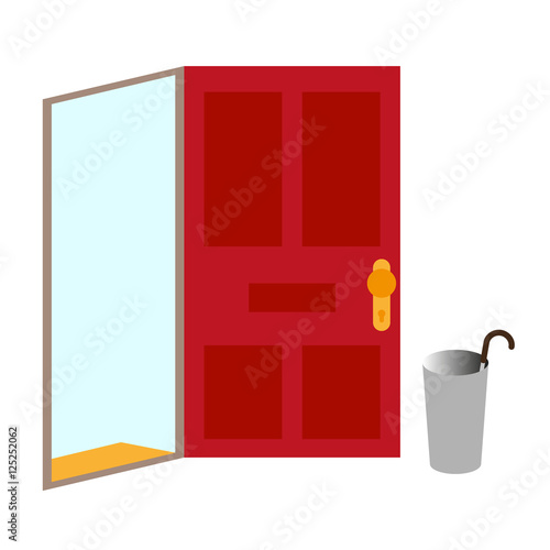 open door welcome church open door welcome illustraton on white background background